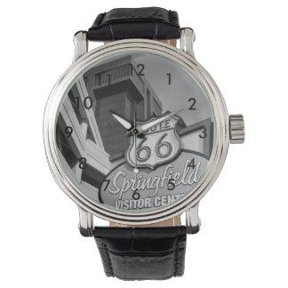 スプリングフィールドのグレースケールへの歓迎 腕時計