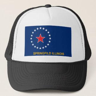スプリングフィールドの旗の帽子 キャップ