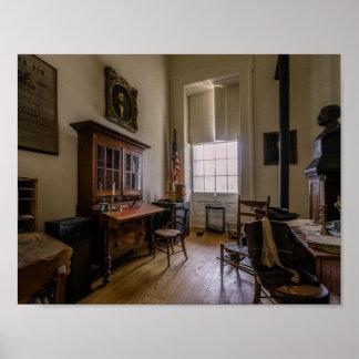 スプリングフィールドイリノイのグラント大将のオフィス ポスター
