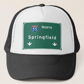 スプリングフィールドイリノイの州間幹線道路の高速道路: キャップ