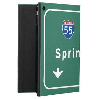 スプリングフィールドイリノイの州間幹線道路の高速道路: iPad AIRケース