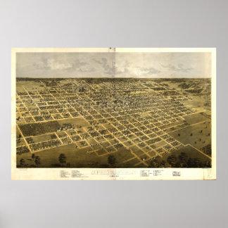 スプリングフィールドイリノイ(1867年) ポスター