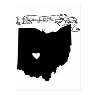 スプリングフィールドオハイオ州 ポストカード