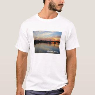 スプリングフィールド上の日没、MA Tシャツ