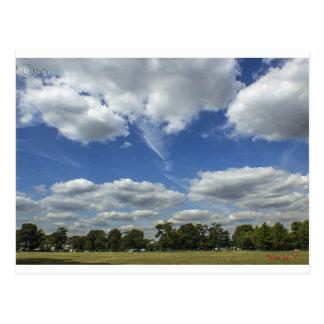 スプリングフィールド上の雲 ポストカード