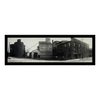 スプリングフィールド、オハイオ州は写真1908年を製粉します ポスター