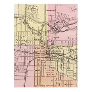 スプリングフィールド、オハイオ州 ポストカード