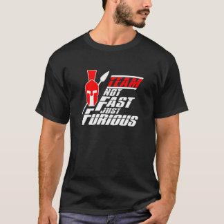 スプリントのスパルタ式のティー-人 Tシャツ