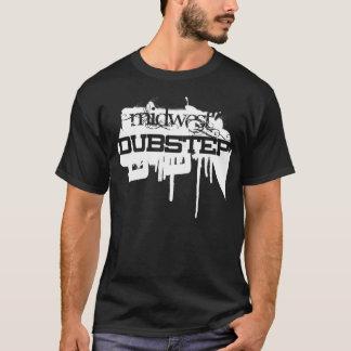 スプレーのステップ黒 Tシャツ