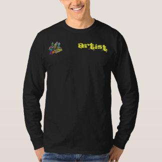 スプレーの芸術家 Tシャツ