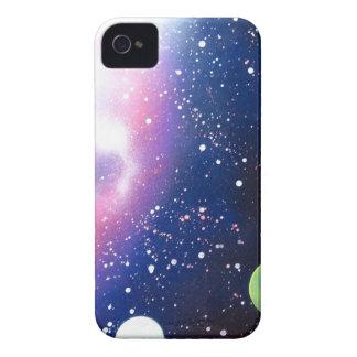スプレー式塗料の芸術の宇宙の銀河系の絵画 Case-Mate iPhone 4 ケース
