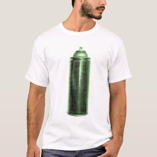 スプレー式塗料(緑) Tシャツ