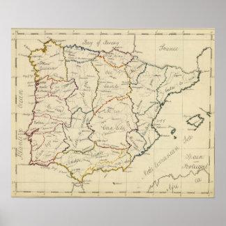 スペインおよびポルトガル5 ポスター