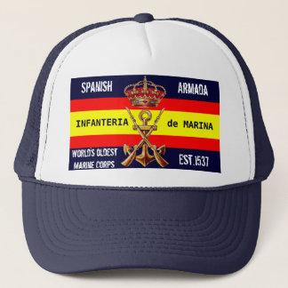 スペインので王室のな海兵隊員 キャップ