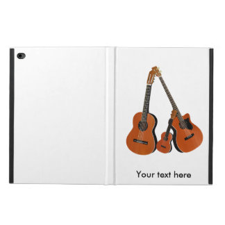 スペインのなギターの音響の低音およびウクレレ POWIS iPad AIR 2 ケース