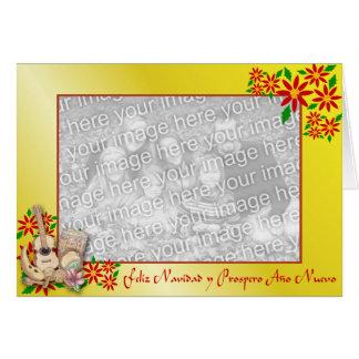 スペインのなクリスマスカード カード