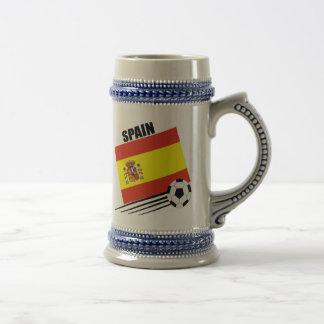 スペインのなサッカーチーム ビールジョッキ