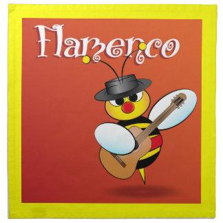 スペインのなフラメンコのナプキン ナプキンクロス
