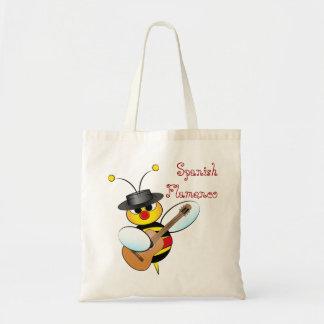 スペインのなフラメンコのバッグ トートバッグ