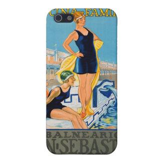 スペインのなリゾートポスター iPhone 5 CASE