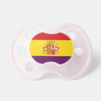 スペインのな共和党の旗- Bandera República España おしゃぶり