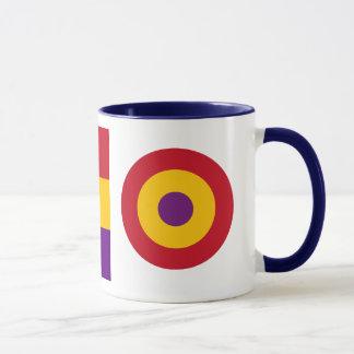 スペインのな共和党の空軍マグ マグカップ