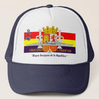 """スペインのな共和党海軍巡洋艦""""LIBERTAD """" キャップ"""