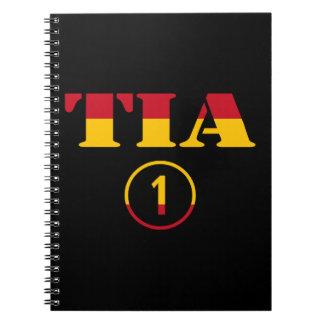 スペインのな叔母さん: Tia Numero Uno ノートブック