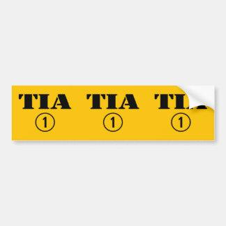 スペインのな叔母さん: Tia Numero Uno バンパーステッカー