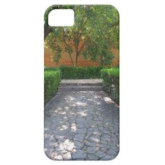スペインのな庭の通路のiPhone 5/5sの場合 iPhone SE/5/5s ケース