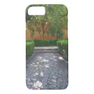 スペインのな庭の通路のiPhone 7の場合 iPhone 8/7ケース