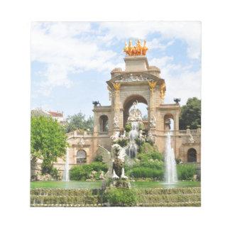 スペインのな建築 ノートパッド