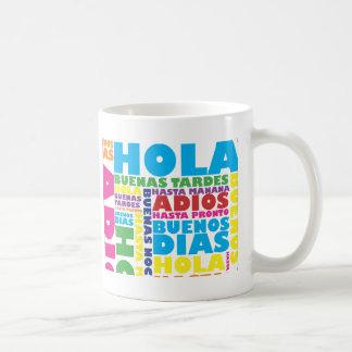 スペインのな挨拶 コーヒーマグカップ