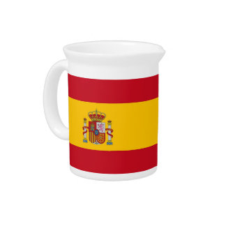 スペインのな旗の水差し ピッチャー