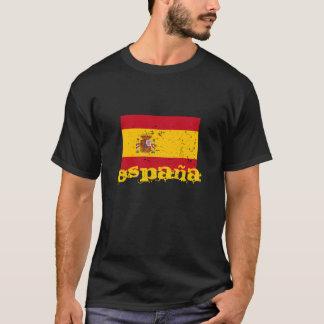 スペインのな旗のTシャツ|スペインエスパーニャ Tシャツ