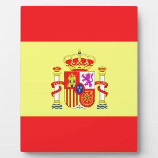 スペインのな旗 フォトプラーク