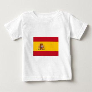 スペインのな旗 ベビーTシャツ