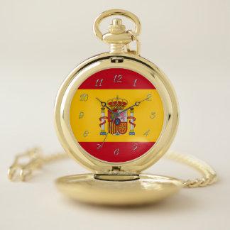 スペインのな旗 ポケットウォッチ