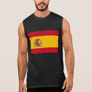 スペインのな旗 袖なしシャツ