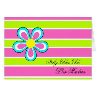 スペインのな母の日カード-花 カード