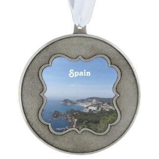 スペインのな海岸の眺め オーナメント