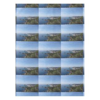 スペインのな海岸の眺め テーブルクロス