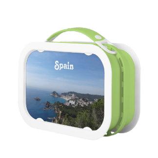スペインのな海岸の眺め ランチボックス