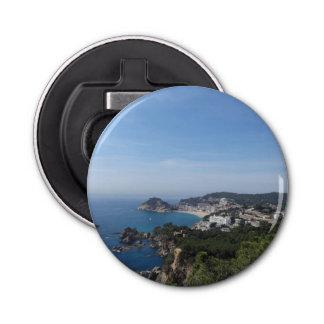 スペインのな海岸の眺め 栓抜き