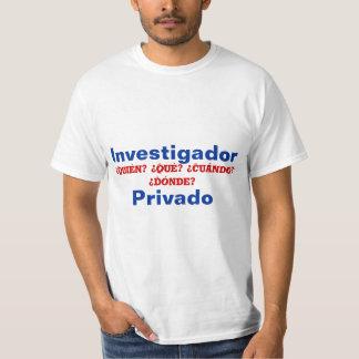 スペインのな私立探偵 Tシャツ
