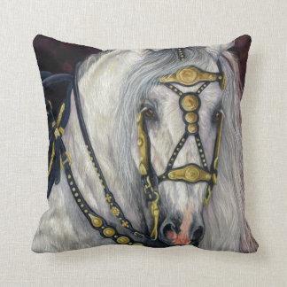 スペインのな金デザイナー馬の枕 クッション