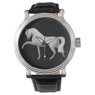 スペインのなAndalusian馬の腕時計 腕時計
