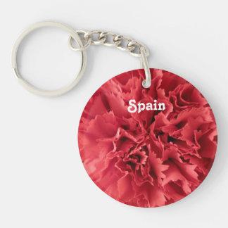 スペインのカーネーション キーホルダー