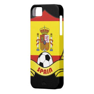 スペインのサッカーのiPhone 5カバー iPhone SE/5/5s ケース