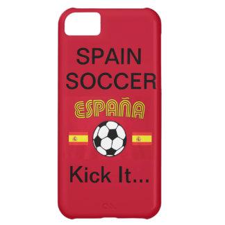 スペインのサッカーは、それを…蹴ります iPhone5Cケース